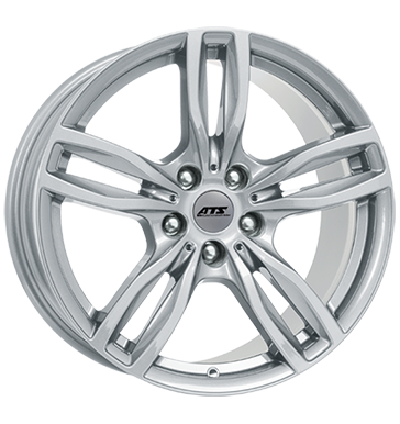 ATS, Evolution, 9x19 ET48 5x120 74,1, polar-silber