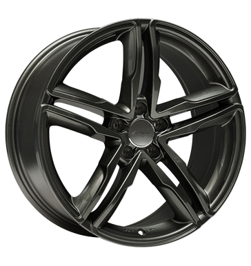 Wheelworld, WH11, 8x18 ET26 5x112 66,6, dark gunmetal lackiert