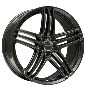 Wheelworld, WH12, 8x18 ET45 5x112 66,6, dark gunmetal lackiert