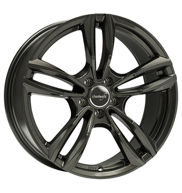 Wheelworld, WH29, 8,5x18 ET35 5x112 66,6, dark gunmetal lackiert
