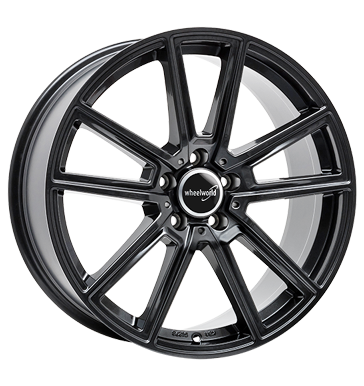 Wheelworld, WH30, 8,5x19 ET45 5x112 66,6, dark gunmetal lackiert